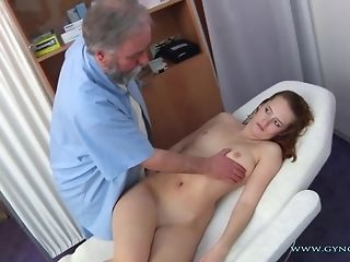 Long-legged Haymaker Czech nymph Comes To older Paunchy obgyn medic freesex
