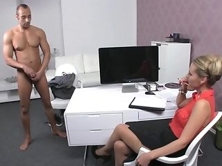 Czech Freulein chef makes Greek boy go thru exclusive audition take it on the lam porn
