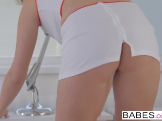 Carry the rectal - nasty nurse Nikky desire takes it in the brush booty porntube