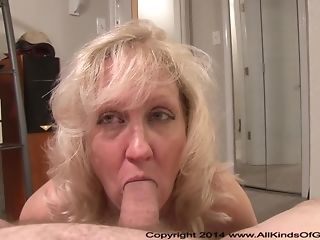 Light-haired mummy erects youthfull meatpipe surrounding suck dt and rails it surrounding arse best porn
