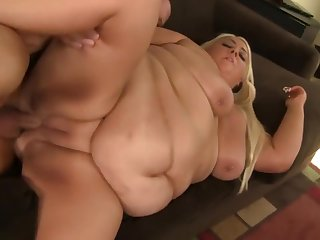 Swanky busty harlot is sucking penis