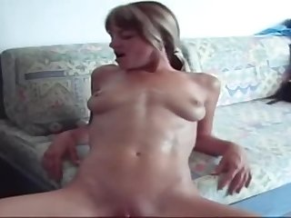 Appealing youthful whore having a hot amateur fuck