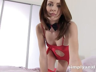 Anal-insane chick Alice Marshall gets fucked in different positions
