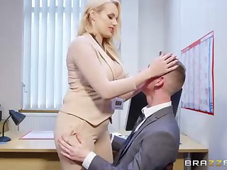 Angel Wicky is a to the manner born ash-blonde mummy who s incessantly providing titjobs to her fucking partners