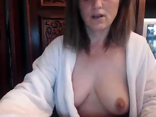 Redhead mature superior to before webcam
